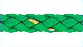 Liros Polyester Flechtleine 4 mm x 80 m grün