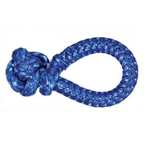 Liros Soft Schäkel Dyneemaschäkel 12 mm blau 4,0 t