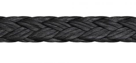 Liros D-Pro 8 mm Dyneema® Seil tiefschwarz 100 m Spule