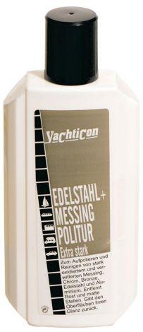 Yachticon Edelstahl + Messing Politur Extra Stark 250 ml
