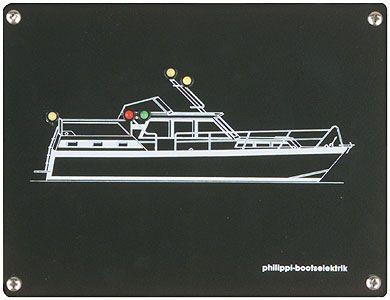Philippi POS -MY Positionslampen-Überwachung Motoryacht Serie 100