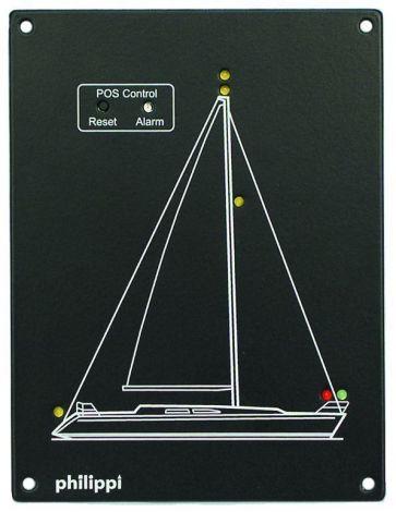 Philippi POS -SY Positionslampen-Überwachung Segelyacht Serie 100