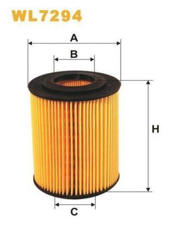 Ölfilter WL7294 Mercrusier/Quicksilver 882687