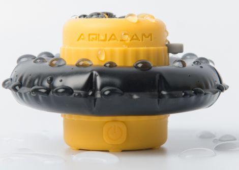 Bluetooth Lautsprecher AquaJam Mini wasserdicht gelb