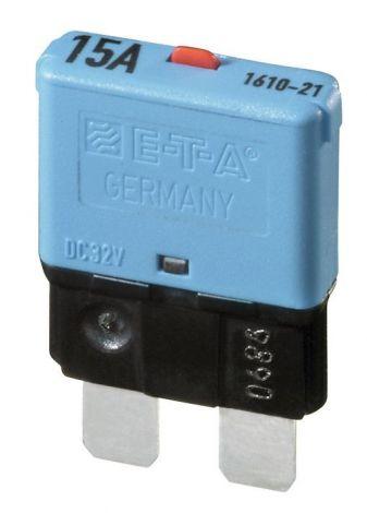 Philippi E-T-A 1610 Einpoliger thermischer Schutzschalter 5A