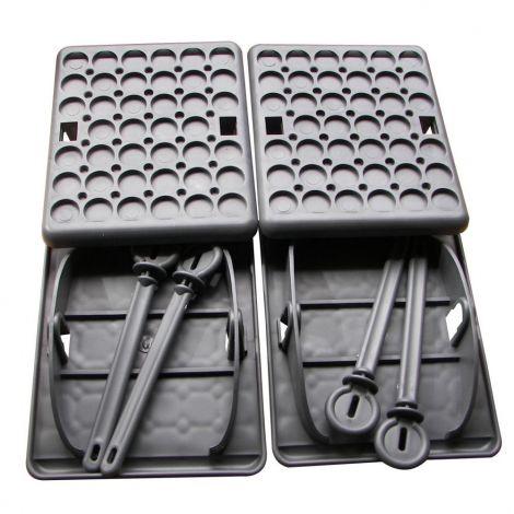 belsol Stützplatten 4er Set Jumbo Foot