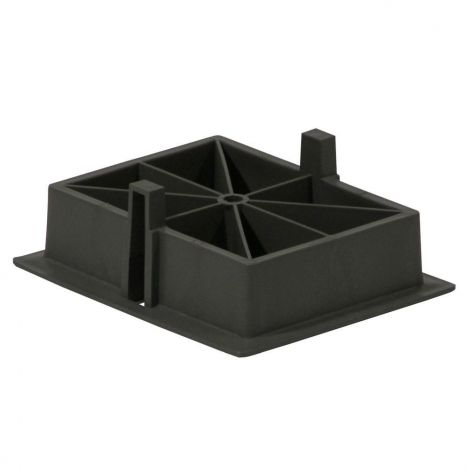 belsol Ausgleichsplatten 4er Set für Stützplatten Jumbo Foot