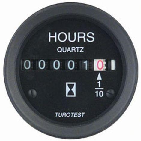 Philippi HOURS Betriebsstundenzähler mit LED-Beleuchtung