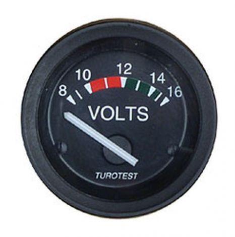 Philippi Voltmeter zur Anzeige der Batteriespannung 8-16 Volt