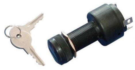 Zündschloss aus Kunststoff 3 Kontakte