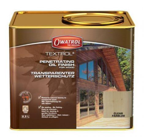 Owatrol TEXTROL Transparent für aussen 2,5 L