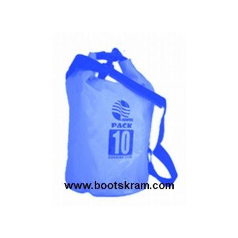 Seesack, Packsack 10 L in blau