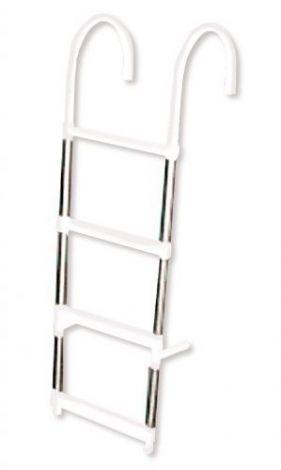 Badeleiter zum Überhängen 4 Stufen