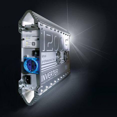 Büttner Elektronik Wechselrichter mit Netzumschaltung MT1200SI-N 1200W