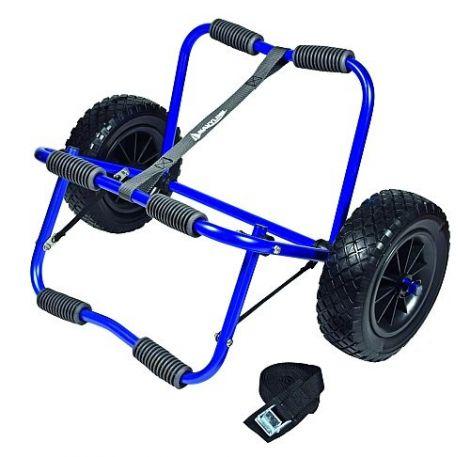 Kajak Kanu Wagen blau