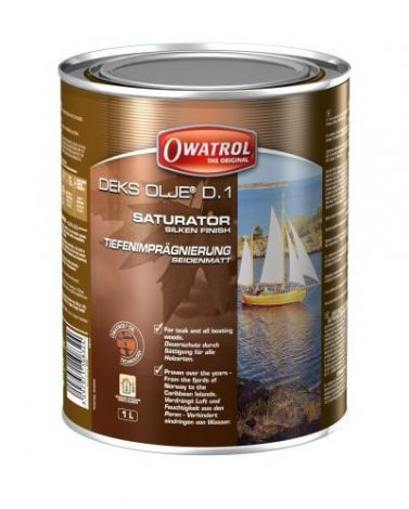 Owatrol DEKS OLJE D1 - 1 Liter