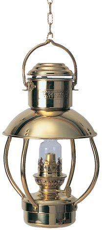 Trawler Messinglampe