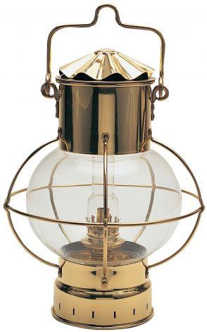 Nautische Messing Kugellampe