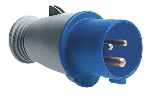 CEE-Stecker feuchtigkeitsgeschützt, IP44