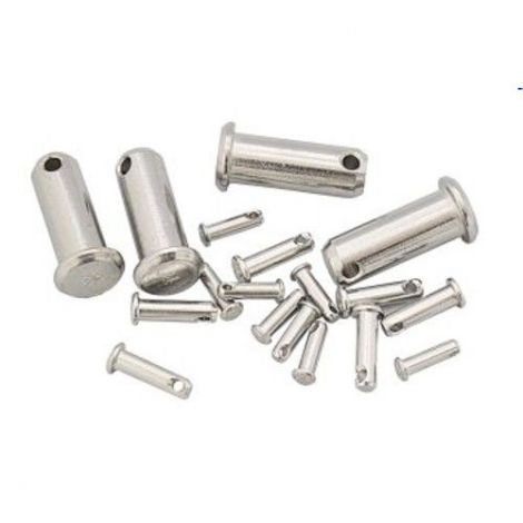 Steckbolzen Edelstahl für Wantenspanner D 4 mm L 14 mm
