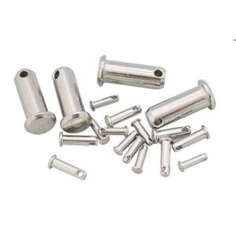 Steckbolzen Edelstahl für Wantenspanner D 10 mm L 26 mm