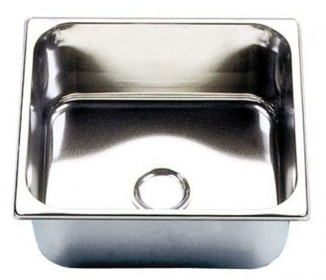 BARKA rechteckiges Waschbecken Hochglanz