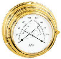 BARIGO Yacht Thermometer - Hygrometer 100 mm