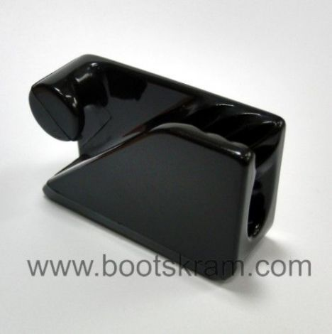 Clamcleat Loop Klemme schwarz Nylon 3-6 mm