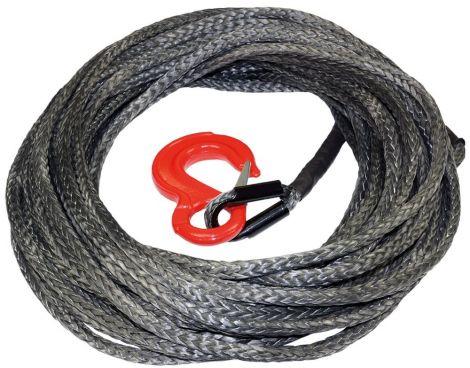 Windenseil Dyneema® 7000 kg 10 mm x 15 m mit Öse und Haken