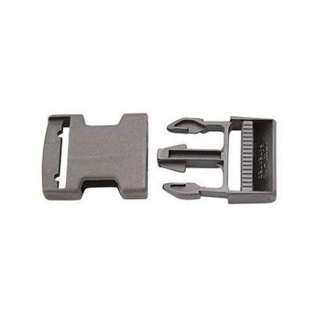 Gurtschnalle Steckschnalle schwarz Kunststoff für Gurtband 25 mm
