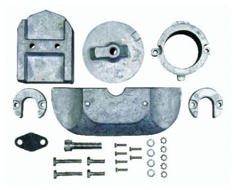 Anode Kit (Aluminum) Sierra 18-6158A, 888756A1, 888756Q01, 97-888756Q03