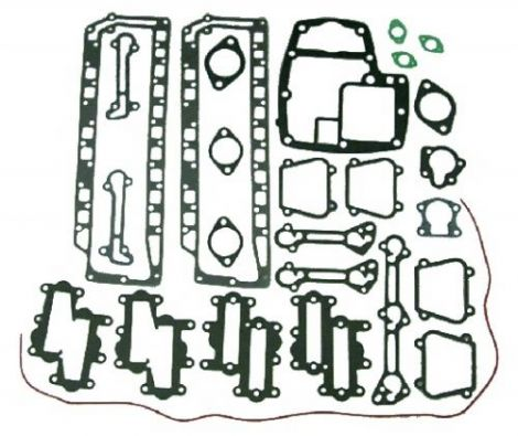 Powerhead Gasket Set Chrysler Force Sierra Marine Parts 18-4312