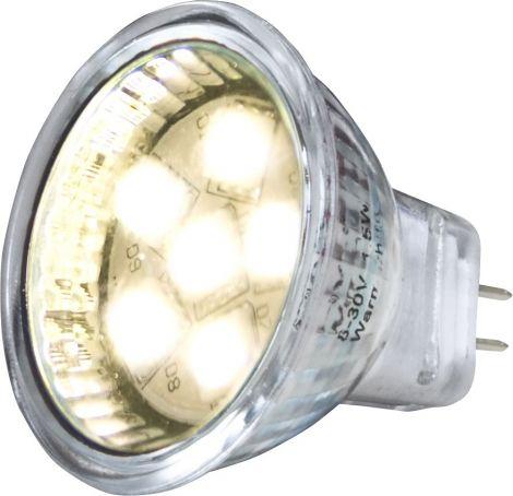 Båtsystem Einsatz SMD LED 6 Dioden Fassung MR11