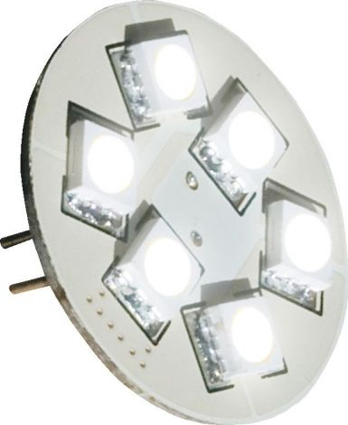 Båtsystem Einsatz SMD LED 6 Dioden Fassung G4 Stift hinten