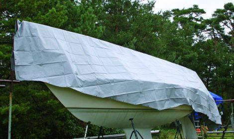 Watski Vorgeformte PVC-Plane 600 g/m²