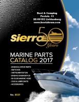 SierraMarine Parts Katalog 2017