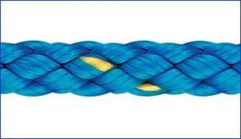 Liros Polyester Flechtleine 4 mm x 65 m blau
