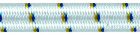 Liros Gummiseil Polyester weiss Spulen