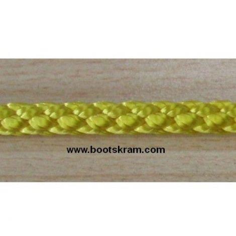 Liros Polyester Flechtleine 4 mm x 65 m gelb