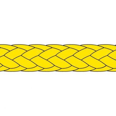 Liros Dynemaflechtschnur Angelschnur 1000m 0,35 mm gelb