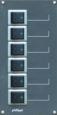 Philippi STV 206-2p Stromkreisverteiler Serie 200 - zweipolig