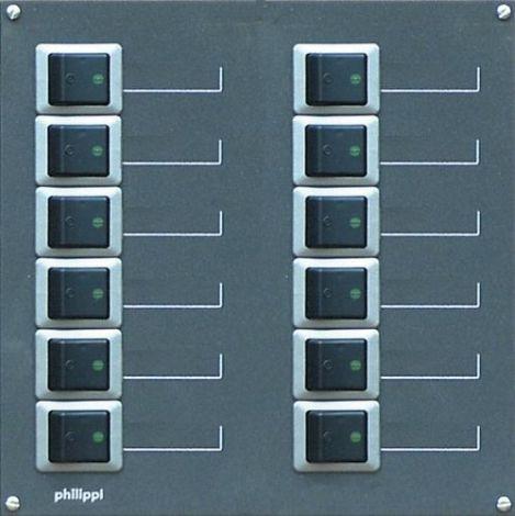 Philippi STV 212-2p Stromkreisverteiler Serie 200