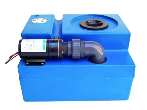 Ocean technologies Schwarzwassertank 47 Liter, komplett, rechteckig