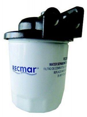 Treibstofffilter 10 Micron, 10 cm kurz inkl. Halterung