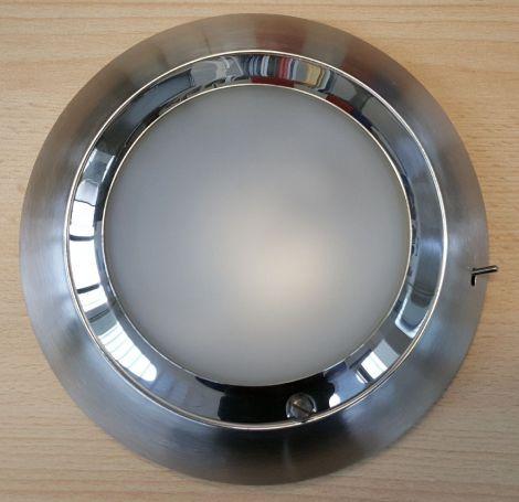 Cockpitlampe 190 mm hochglanz und Edelstahl matt
