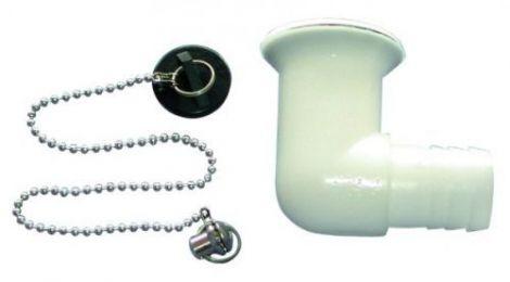 Osculati Ersatz Ablaufgarnitur für Spülen 90 Grad