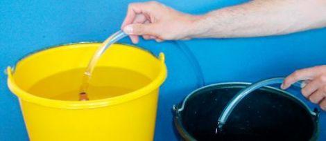 Schüttelschlauch Pumpen ohne Ansaugen