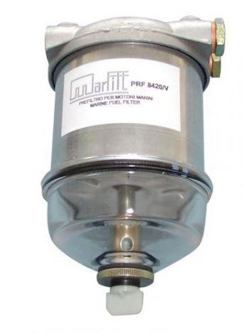 Treibstofffilter mit Schauglas max. 65L/min