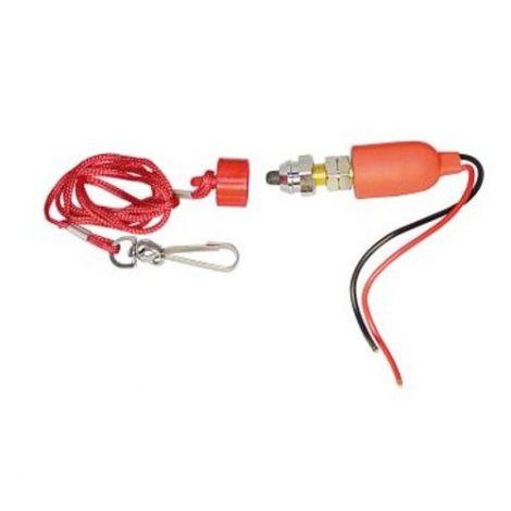 Notstopschalter rot für Magnet oder Transistorzündung