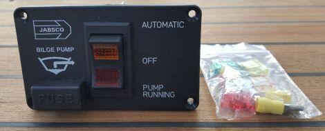 Jabsco 29140-0000 Bilge Master Switch Panel